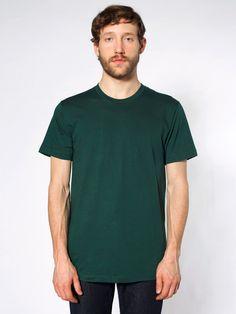 American Apparel - Fine Jersey Short Sleeve T-Shirt ($18.00)