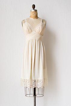 vintage slip dresses :)