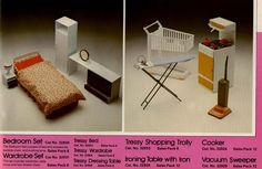 1979 - Tressy Accessories. All of these items are quite hard to find.