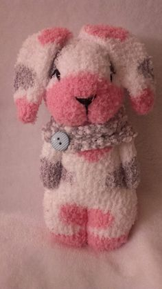 Image gallery - MyKingList.com Diy Sewing Projects, Sewing Crafts, Sock Bunny, Sock Snowman, Sock Crafts, Sock Dolls, Sock Animals, Doll Patterns, Bear Patterns