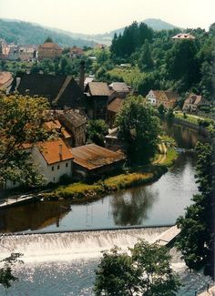 View from Rožmberk Castle, Rožmberk nad Vltavou, Czech Republic Countryside Village, Austria, Prague Czech Republic, Travel Memories, Top Of The World, Travel Photos, Places To Go, Beautiful Places, Around The Worlds