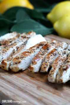 All Purpose Lemon Basil Marinated Chicken | Carlsbad Cravings