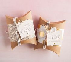 For mom and dad. Embroidered Handkerchiefs: Your mom (and dad) will probably tear up on your big day. These DIY handkerchiefs stand as the first line of defense against a blotchy face