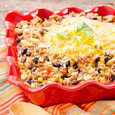 Pressure Cooker Mexican Beef Rice is a healthy, speedy meal with a fiesta of flavors. Serve it in bowls or use as filling for lettuce wraps.