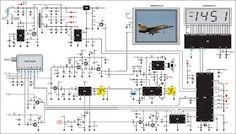 Schema Electronique Net: Un scanner de réception audio/vidéo pour satellites TV
