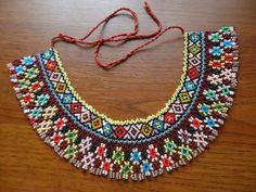Beaded collar