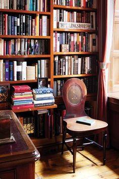 reading corner ~ Sheila Bridges design