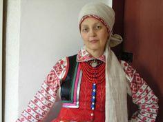 Costume with namitka of Rivne oblast, Ukraine