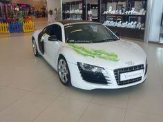 Samochód do ślubu Audi R8 – HUMMER LIMUZYNA