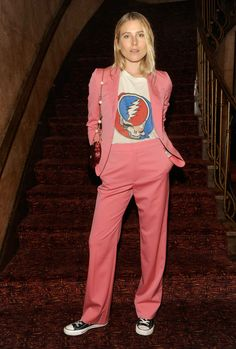 """Dree Hemingway in Gucci at a screening of Florence   the Machine's visual album """"The Odyssey"""" on Wednesday in New York City. Photo: Courtesy of Getty Images/Gucci"""