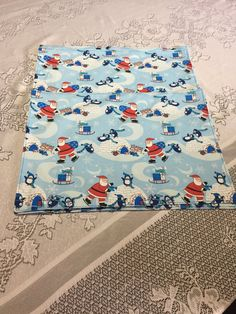 Winter Placemats  Christmas Placemats  by SewWhatbyMindyKay