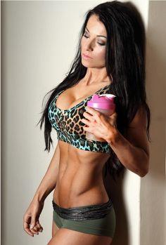 Christina Halkiopoulos  https://www.youtube.com/watch?feature=player_detailpagev=TvShy4rmRh0  http://www.fitnessgeared.com/forum