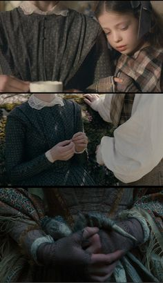 Costume details from 'Jane Eyre' (2011). Costume designer: Michael O'Connor