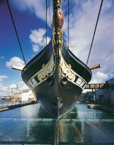 SS Great Britain, the first Atlantic liner built of Iron, was launched on this day 19th July, 1837. She is now restored and can be viewed at the Great Western Dockyard in Bristol . England