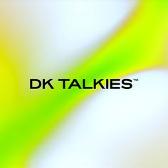 Rois in use for the identity of the film production DK TALKIES™. Design by Hugmun Studio. Personal Branding, Portfolio Design, Talk To Me, Color Patterns, Typography, Letters, Graphic Design, Studio, Identity