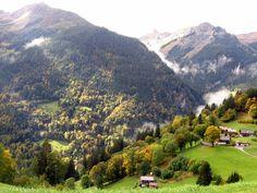 I love Wengen, Switzerland.