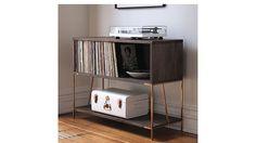 CB2 dean record cabinet-console $649