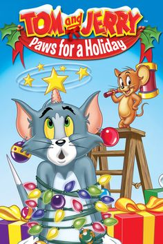 Tom and Jerry: Paws for a Holiday - Joseph Barbera & William.: Tom and Jerry: Paws for a Holiday - Joseph Barbera &… Christmas Cartoons, Christmas Movies, Holiday Movies, Christmas Pics, Vintage Christmas, Hanna Barbera, Betty Boop, Tom Und Jerry Cartoon, Tom Et Jerry