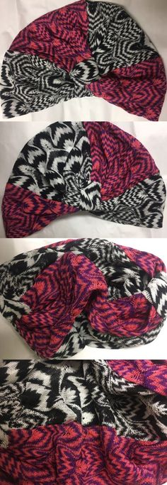 Hair Accessories 45220: Nwt Authentic Missoni Mare Zig-Zag Knit Beach Turban Headband 1 Size Italy -> BUY IT NOW ONLY: $135 on eBay!
