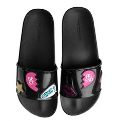 Rasteira Feminina Snap Zaxy Best Friend 17333 – Preto