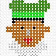 Deze kralenplank en vele andere in het thema sinterklaas kun je vinden op de website van Juf Milou. Granny Joy, Activities For Kids, Crafts For Kids, Saint Nicolas, Diy Perler Beads, Marianne Design, Rainbow Loom, Brick Stitch, Winter Scenes