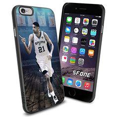 "NBA Basketball Player Timothy Theodore ""Tim"" Duncan San Antonio Spurs , Cool iPhone 6 Smartphone Case Cover Collector iphone TPU Rubber Case Black Phoneaholic http://www.amazon.com/dp/B00WHAVBB8/ref=cm_sw_r_pi_dp_JHQpvb17M5SGF"