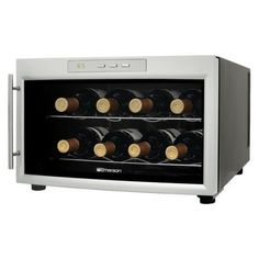 Don't bring a bottle, bring a temperature controlled place to store one. $89.99 Emerson 8-Bottle Wine Cooler.