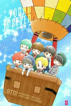 BTS / Young Forever / FanArt