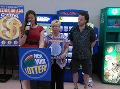 $1 million lottery winner from Utica, NY.