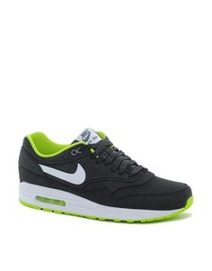 http://shoesonline24.co.uk #Nike Air Max 1 Trainers