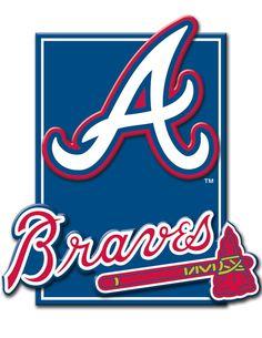 Atlanta Braves 3D plaque (Target)