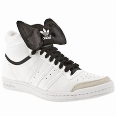 Womens Adidas bow high tops