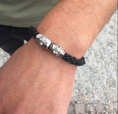 Skulls armband, gemaakt door Crea Nancy