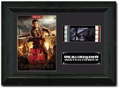 Dead Rising: Watchtower 35mm Film Cell display Framed  Stunning Display Zombie Jesse Metcalfe Chase