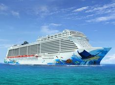 Just Announced: Popular marine wildlife artist and ocean conservation champion, Guy Harvey has been commissioned to paint the signature hull artwork of our largest ship to-date, Norwegian Escape, coming to Miami, Fall 2015. The beautiful design features larger-than-life paintings of endangered marine creatures of the Caribbean, demonstrating our concern and commitment to the marine environment through which our fleet sails.