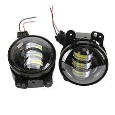 Jeep Wrangler 30-Watt LED Fog Lamp