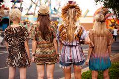 Carnival Fun ~ Fall 2010 #girl #friends #hippie #inspo #boho #fashion #style #festival #coachella #ideas