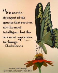 #Darwin #quotes #change www.recoveryandme.org