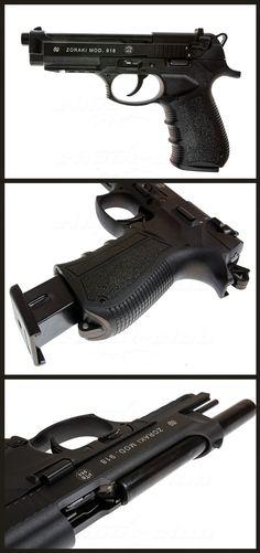 Schreckschusspistole Zoraki 918 im Kaliber 9mm P.A.K.  #shootclub #schreckschuss #Pistol