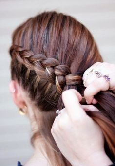 This is a basic but very beautiful braid! If you are a beginner and want to know how to create it, see some samples in the gallery an...