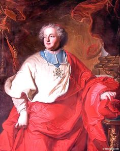 Armand de Rohan 1674-1749 was bishop of Strasbourg in 1704, Cardinal in 1712 then grand almoner of France in 1713. He was the son of Anne de Rohan-Chabot. It has been strongly suggested that he was Louis XIV's son.