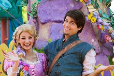 Rapunzel and Flynn :)