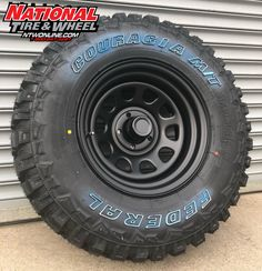 Pro Comp Type 751 Flat Black D Window mounted up to a Federal Couragia M/T. 4x4 Tires, Wheels And Tires, Dodge Ram Parts, Pro Comp, Wheel And Tire Packages, Offroad, Window, Trucks, Cars