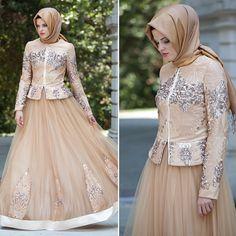 EVENING DRESS - SALMON PINK DRESS - 9027SMN #hijab #naylavip #hijabi #hijabfashion #hijabstyle #hijabpress #muslimabaya #islamiccoat #scarf #fashion #turkishdress #clothing #eveningdresses #dailydresses #tunic #vest #skirt #hijabtrends