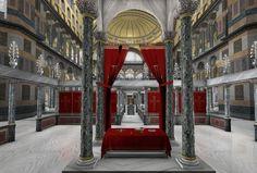 The legend about the Holy Sacred Hagia Sophia! - Maria Kappatou - - The legend about the Holy Sacred Hagia Sophia! Byzantine Architecture, Roman Emperor, Hagia Sophia, Ancient Greek, Colonial, Istanbul, Rome, Empire, World