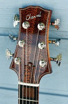 Cheval Guitars Elmer Jazz Hollowbody headstock