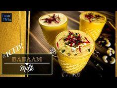 2 Step Iced Badaam Milk|| Iced Almond Milk || ठंडा बादाम दूध - YouTube 2 Step, Summer Drinks, Almond Milk, Pudding, Ice, Youtube, Desserts, Food, Summer Beverages
