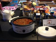 Never too hot for chili day!