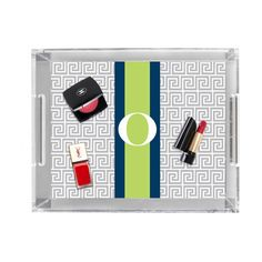Acrylic Decorative Tray Ryder Decorative Tray Clearbison $132 ❤ Liked On Polyvore