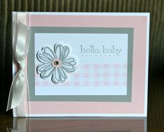 Stampin' Up! by Krystal's Cards and More: Flower Shop Card Class